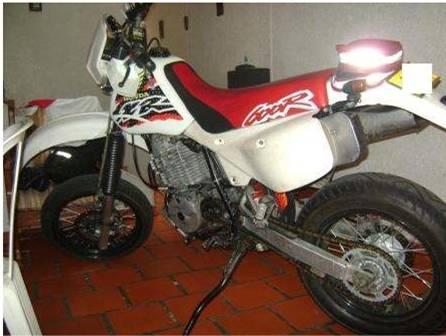 on Motos Honda Xr 600